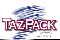 TAZPACK | When You Need It Fast